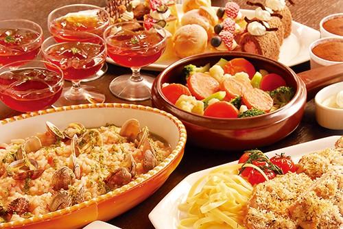 パームツリー|ランチバイキング!8月のテーマはフランス美食街道めぐり「フランス南部」!