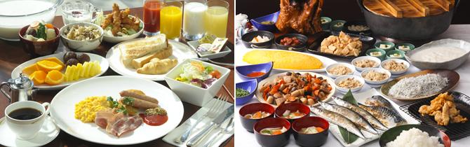 レンブラントホテル大分 朝食のご案内